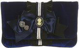 Premium Velvet Bow Clutch Bag