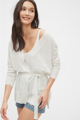 Gap Wrap-Front Cardigan