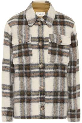 Etoile Isabel Marant Isabel Marant, étoile Gaston checked wool-blend jacket
