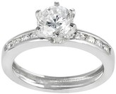 Journee Collection 7 CT. T.W. Round-cut Cubic Zirconia Bridal-style Prong Set Ring in Sterling Silver - Silver