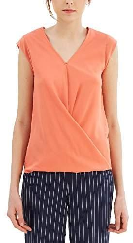 Esprit Women's 047eo1k001 T-Shirt (Size: Large)