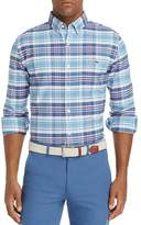 Vineyard Vines Fort Sumter Plaid Tucker Slim Fit Button-Down Shirt