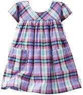 Osh Kosh 2-Piece Plaid Poplin Pocket Dress