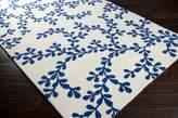 Surya ART235 Artist Studio Transitional Hand Tufted 100% New Zealand Wool Blue Rug (2-Feet x 3-Feet )