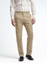 Banana Republic Tailored Slim Non-Iron Cotton Pant
