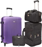 Traveler's Choice Travelers Choice Rome 4Pc Nested Luggage Set