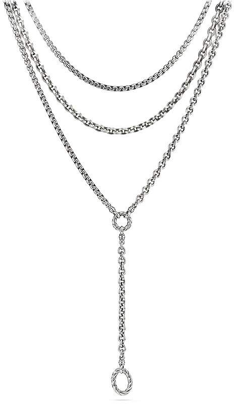 David Yurman Chain Y Necklace
