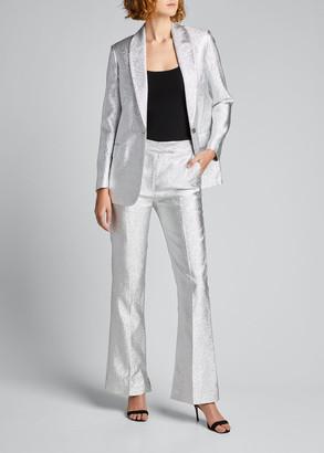 3.1 Phillip Lim Metallic Shawl-Collar Blazer