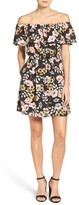 Cupcakes And Cashmere Women's Holly Off The Shoulder Minidress