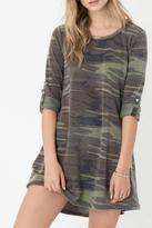 Z Supply Camo Symphony Dress