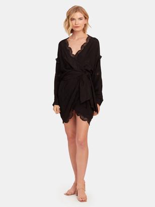 IRO Ragna Tie Waist Mini Dress