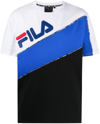 Fila color-block logo T-shirt