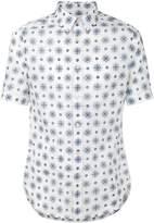 Alexander McQueen pattern print shirt