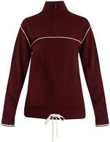 Chloé Half-zip cashmere sweater