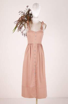 Rebecca Taylor ReCollect Cotton Midi Dress