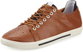 Joe's Jeans Voila Leather Lace-up Sneaker, Cognac