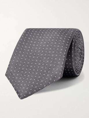 Kingsman + Drake's 8cm Polka-Dot Silk-Jacquard Tie