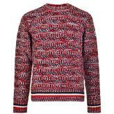 Moncler Gamme Bleu Fleck Knitted Jumper