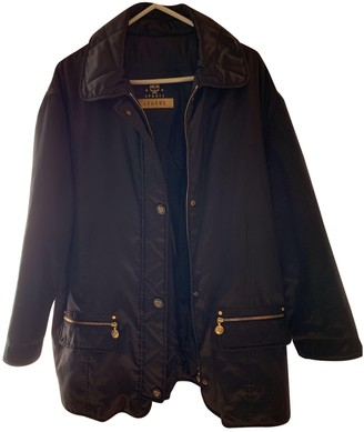 MCM Black Polyester Coats