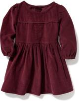 Old Navy Lace-Trim Corduroy Dress for Baby