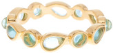 Melinda Maria Isla Blue Tourmaline Ring - Size 7