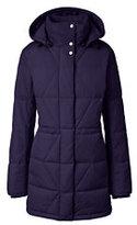 Lands' End Women's Tall Won't Let You Down Parka-Midnight Teal