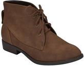 City Classified Brown Size Bootie