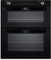 New World NW701DO Double Built-Under Electric Oven, Black
