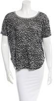 By Malene Birger Manuhi Leopard Print T-Shirt