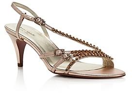 Kate Spade Women's Makenna Crystal-Embellished High-Heel Sandals