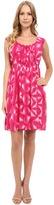 Calvin Klein Sleeveless Fit & Flare Printed Dress CD5H9H2P