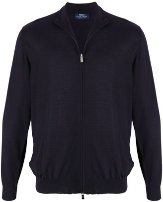 Fedeli Zipped High Neck Sweater