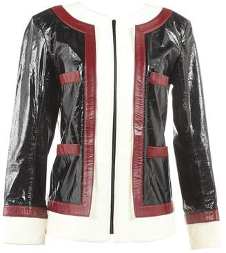 Chanel Black Leather Jacket for Women