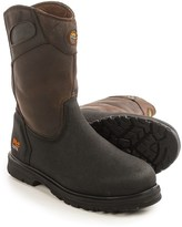 Timberland Series Powerwelt Wellington Work Boots - Leather, Steel Toe (For Men)