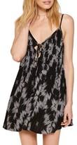 Amuse Society Women's Baja Lace-Up Swing Dress