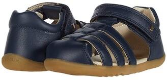 Bobux Step Up Jump Sandal (Infant/Toddler) (Navy 1) Girl's Shoes