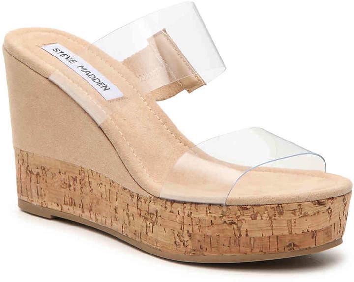 Steve Madden Halee Wedge Sandal - Women's
