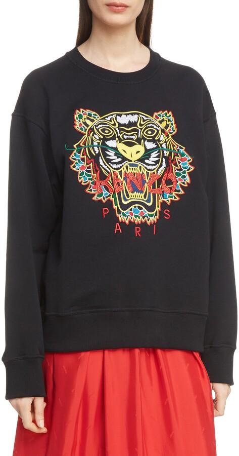 b7a1ae5c Kenzo Women's Sweatshirts - ShopStyle