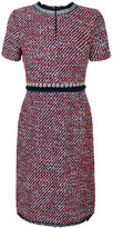 Tory Burch short sleeve tweed dress