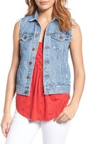 Lucky Brand Women's Denim Trucker Vest