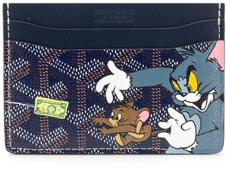 Goyard Pre-Owned Tom and Jerry print card holder