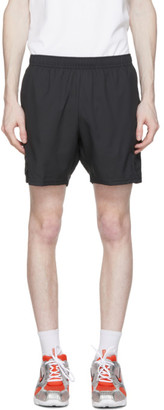 Nike Black Dri-FIT 7 Tennis Shorts
