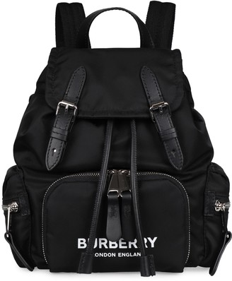 Burberry Logo Neoprene Backpack