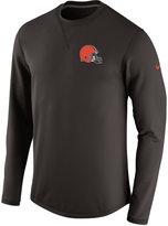 Nike Men's Cleveland Browns Modern Crew Long-Sleeve T-Shirt
