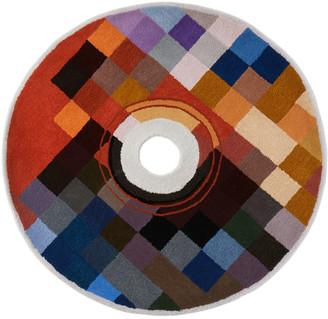 Curves by Sean Brown SSENSE Exclusive Multicolor Handmade CD Rug