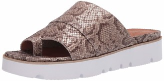 Gentle Souls by Kenneth Cole Women's Lavern Toe Ring Platform Slide