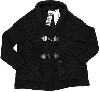 Bark Black Wool Jackets