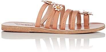 Ancient Greek Sandals Women's Victoria Leather Sandals - Beige, Tan