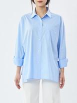 P & Lot Slit Oversied Shirt
