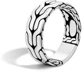 John Hardy Men's Classic Chain 8MM Band Ring in Sterling Silver